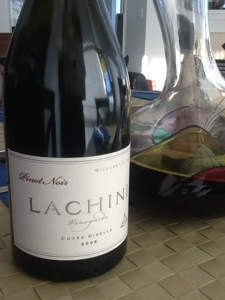 Lachini Vineyards Cuve Giselle Pinot Noir Willamette Valley 2006 142 Abv C95 US65
